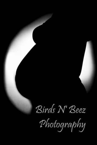 maternity mother newborn silhouette